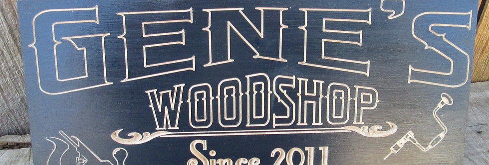 Custom Wood or Work Shop Sign, Personalized Man Cave Wall Decor, MC101