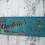 Thumbnail: Beach House Sign with Anchor, Custom Carved Family Name Sign, B105