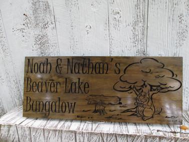 Custom Home Sign