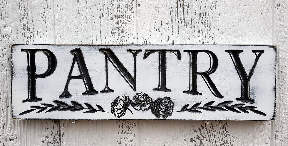 Pantry Distressed Sign