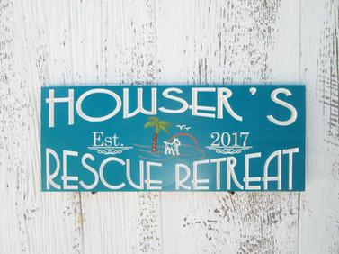 Custom Charity Sign