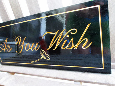 Custom Phrase Sign