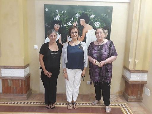 Com a sua Directora a Dra Ana Maria Mira