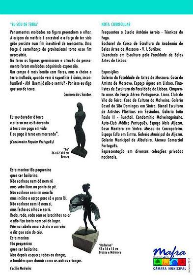_ Carmen dos Santos Escultura e Pintura.