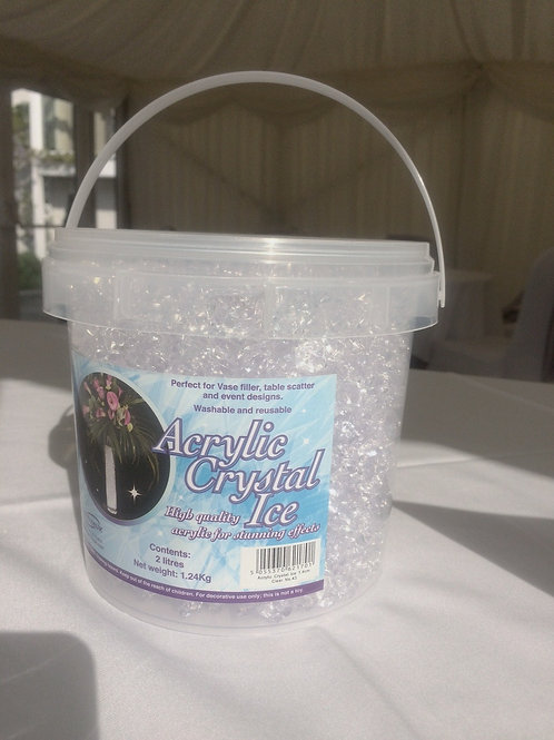 Acrylic Crystal Ice (crystal/glass effect decorative chips)