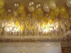 Ceiling Balloon canopy