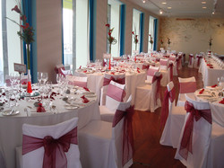 Chair covers Midland hotel