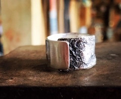 Wrapped Textured Ring