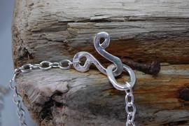 Handmade loop clasp
