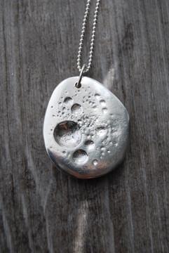 Midi Moon Rock Pendant