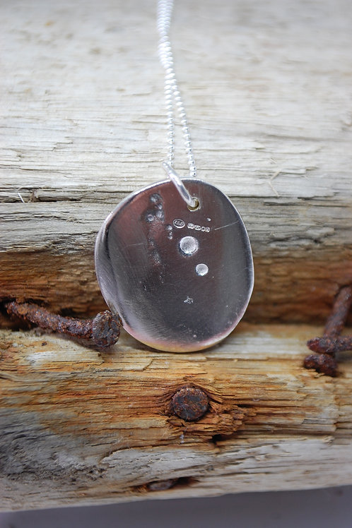 Midi Moon Rock Pendant