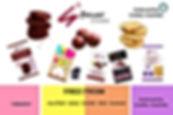 Free-from cookies, vegan, gluten free, dairy free, sugar free, endorsed by Coeliac Australia