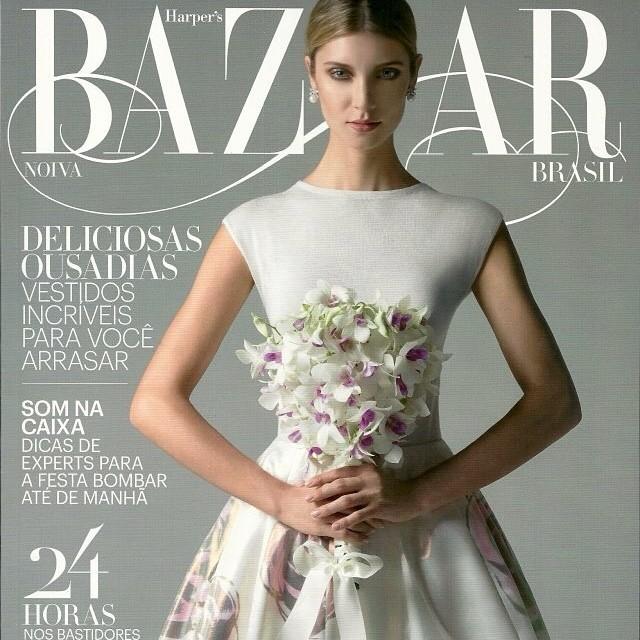 Nosso convite na Revista Harper's Bazar junho 2013#vivirizo#convitesespeciais