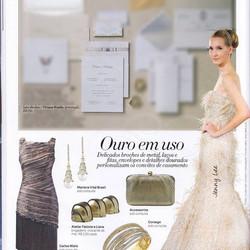 Convite Provençal na Revista Harper's Bazar Noivas Brasil#vivirizo#convitesespeciais