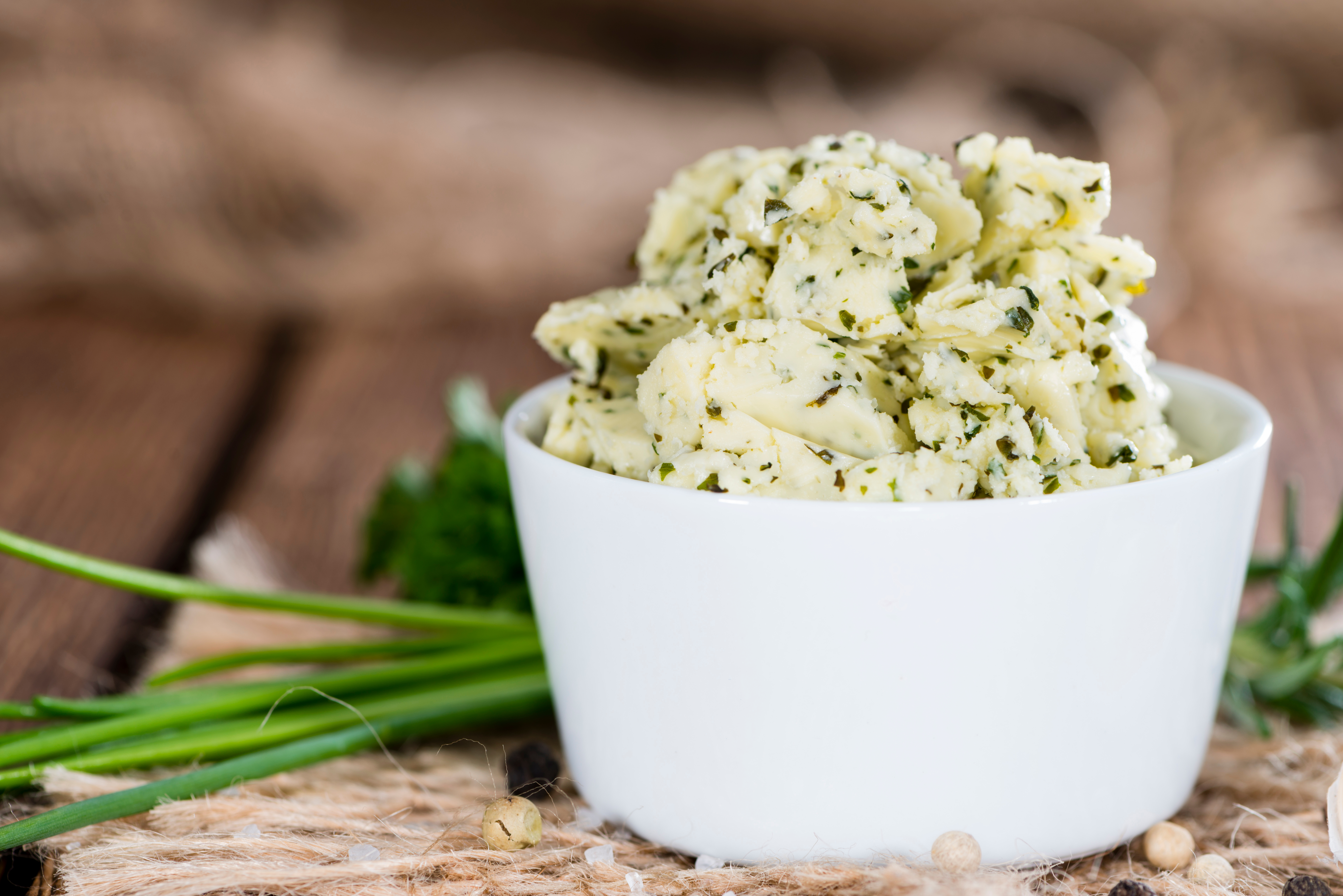 Roasted Garlic and Herb Compound Butter