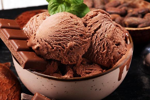 Small Batch Ice Cream: Dutch Chocolate (GF)