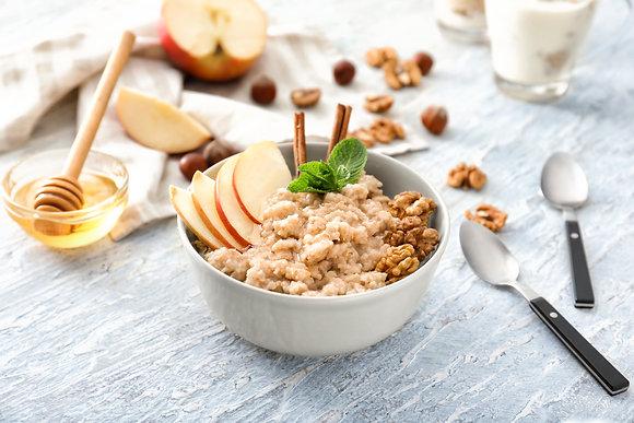 Apple Pie Steel Cut Oatmeal (GF)