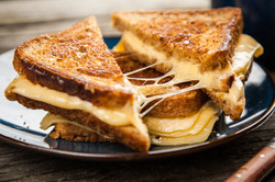 Triple Grilled Cheese Sandwiches
