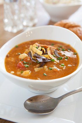 Slow Cooker Tortilla Soup (GF)