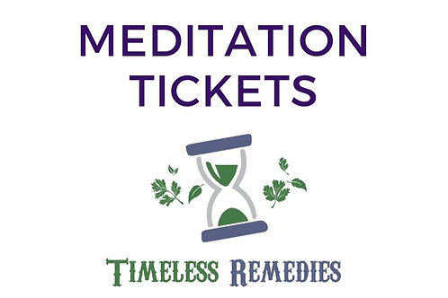Guided Meditation with Whitney May 13, @ 6:30