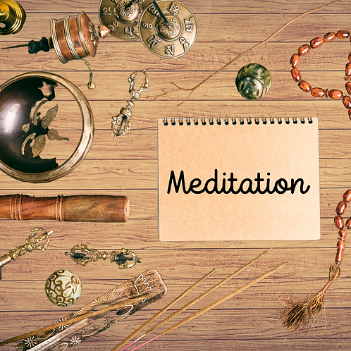 Guided Meditation w/Whitney December 19  @ 4:00 PM