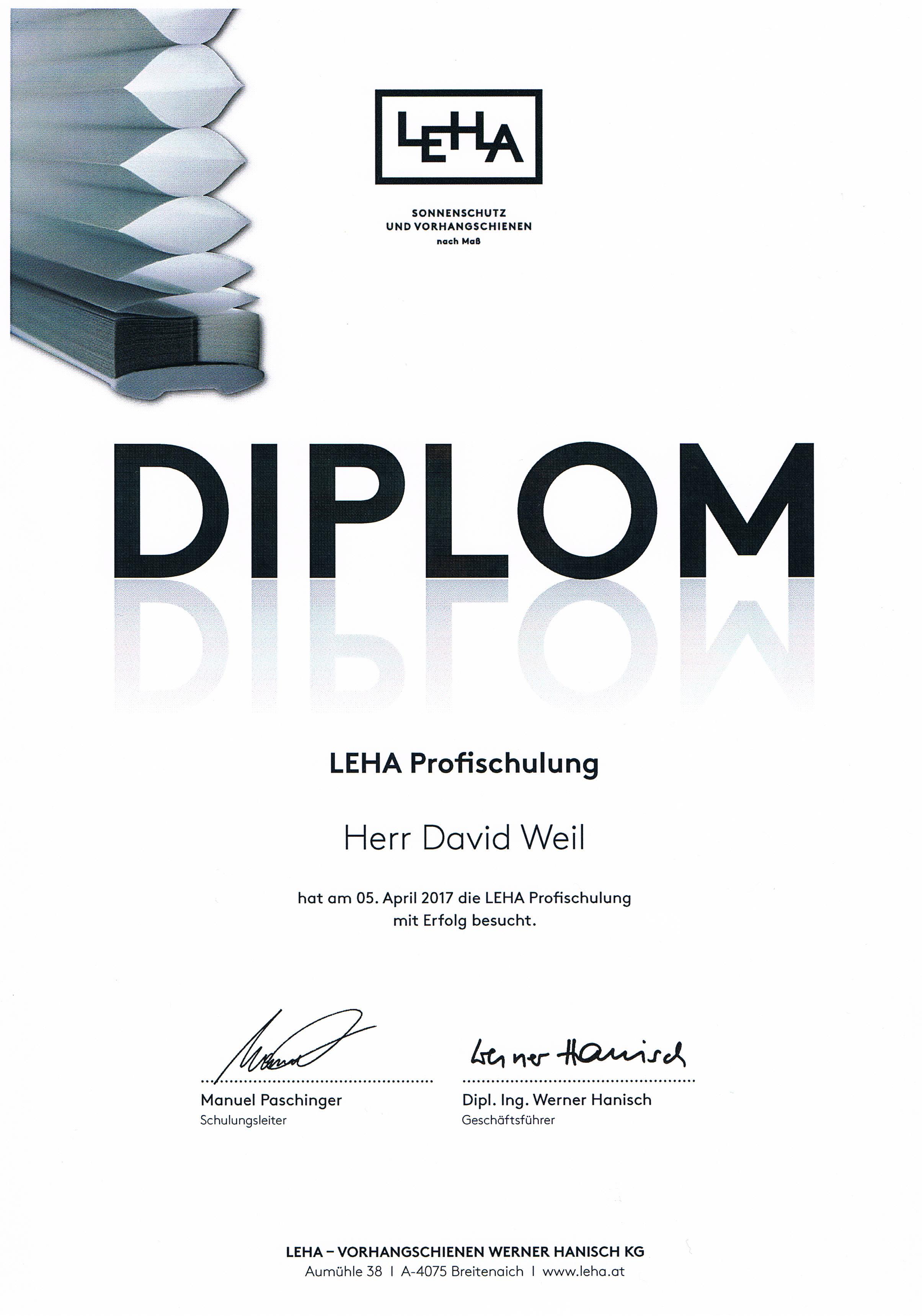 LeHa Profischulung