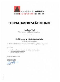 Zertifikat 7 001