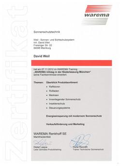 Zertifikat 8 001