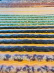 Infrared heated gemstone mat