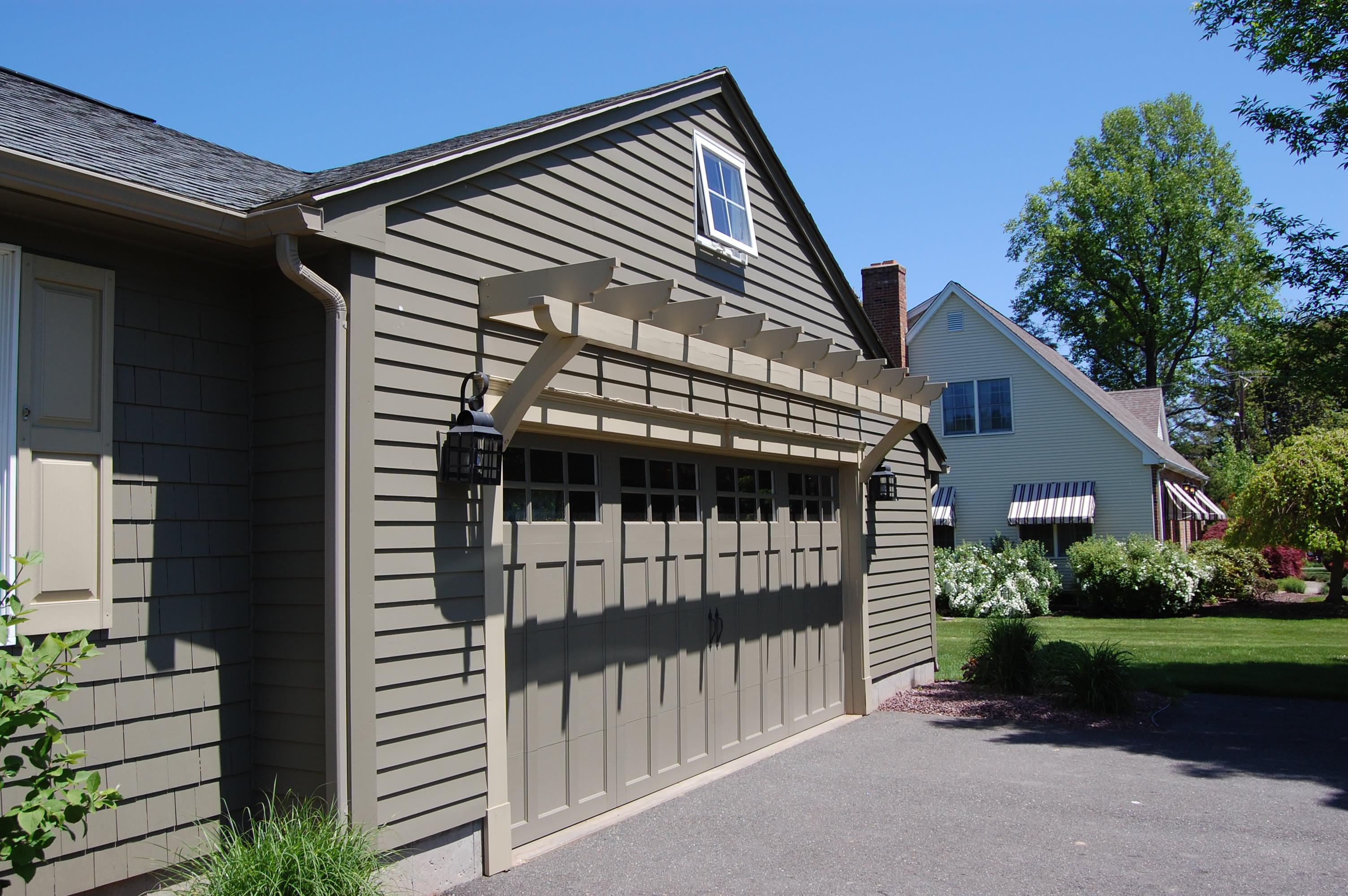 New Garage-Siding