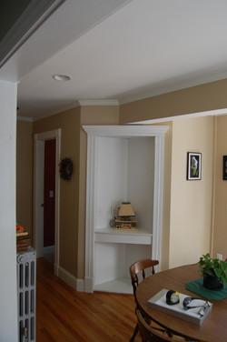 Corner built-in