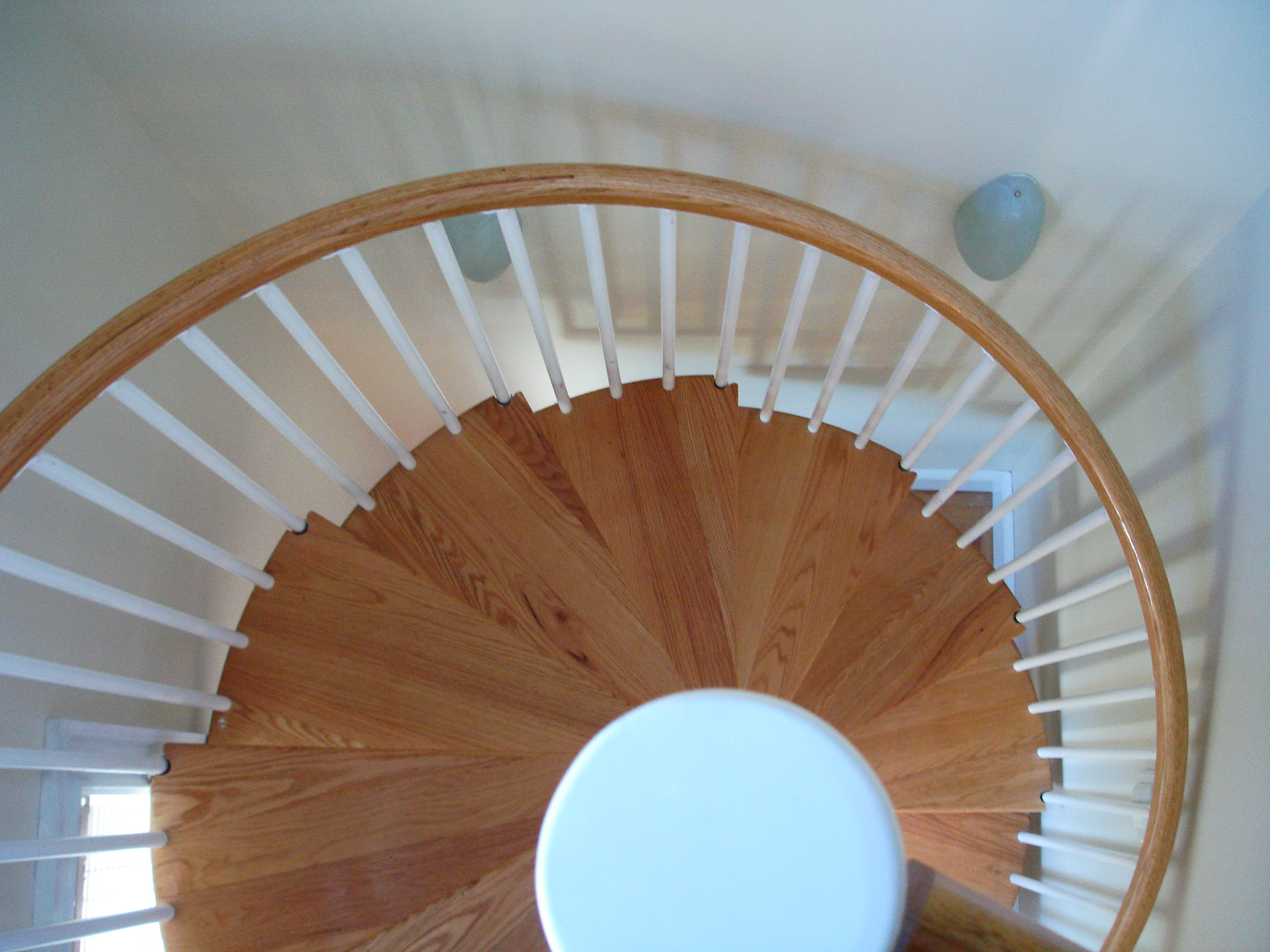 New spiral staircase