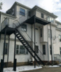 Smith College-Fire Escape Residential_ed
