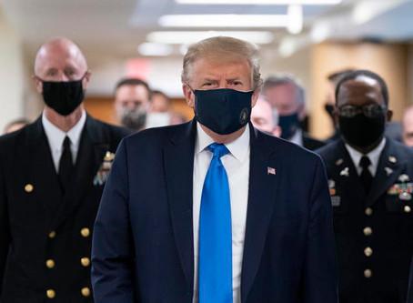 'Trump sta molto bene'. Lui: 'Mi sento come se potessi uscire oggi'