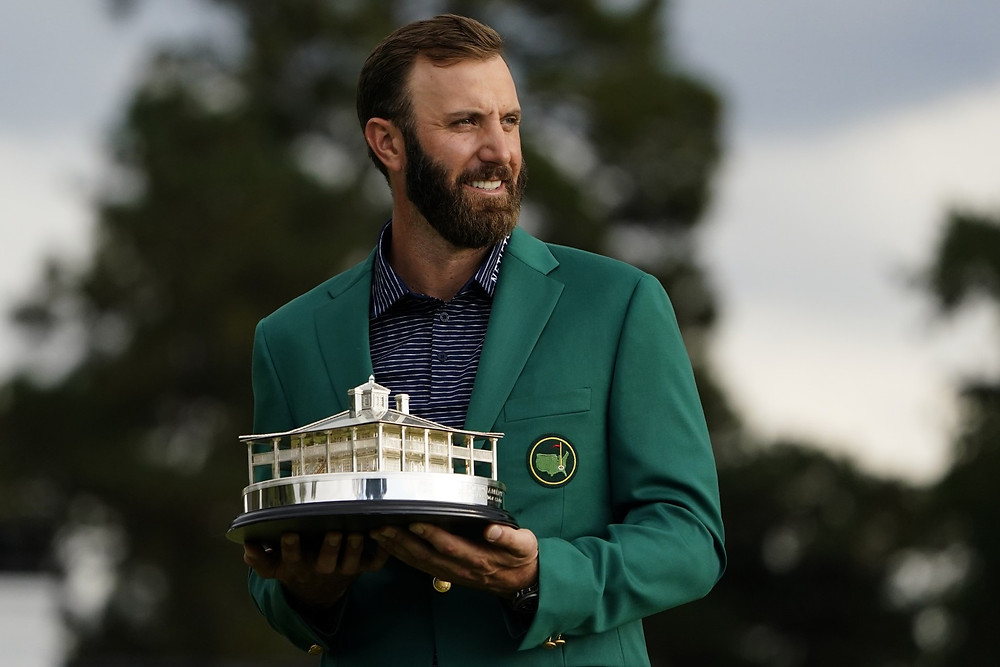 dustin johnson pga tour golf