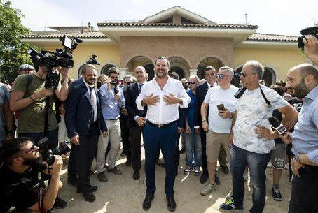 Close European Court of Human Rights - Salvini