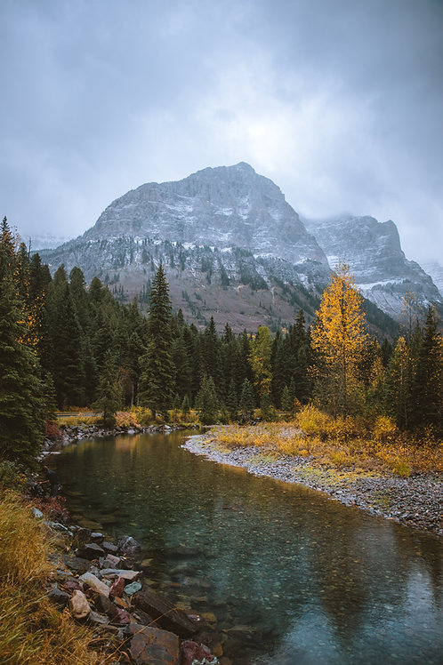 McDonald Creek Autumn