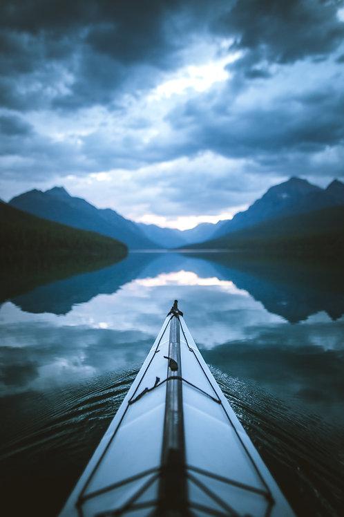 Bowman Lake Tranquility