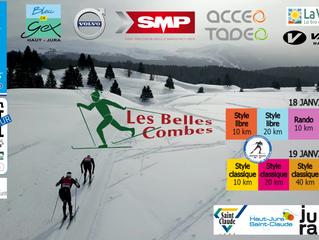 Les Belles Combes 2020 sur le parcours de repli à Lajoux!