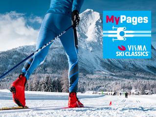 "Visma Ski Classics lance ""MyPages"" et ""SC Ranking"""