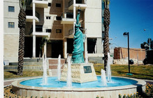 פסל החירות - באר שבע