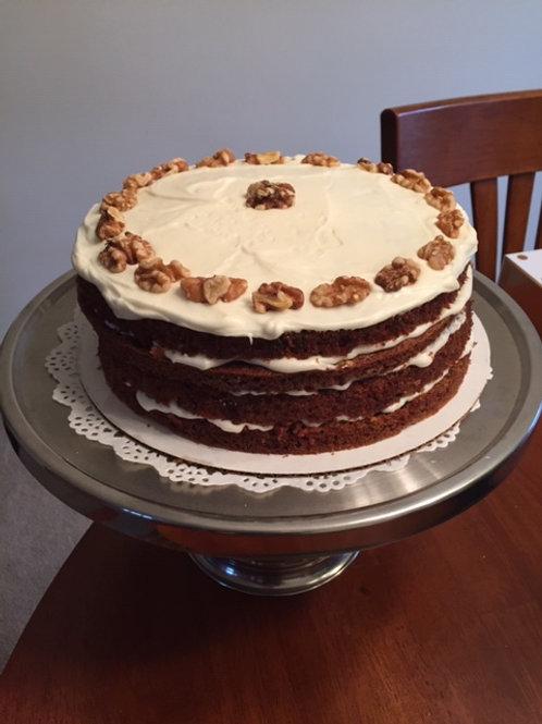Gluten-Free Carrot-Spice Cake