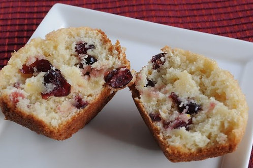 Cranberry Cream Cheese Muffin