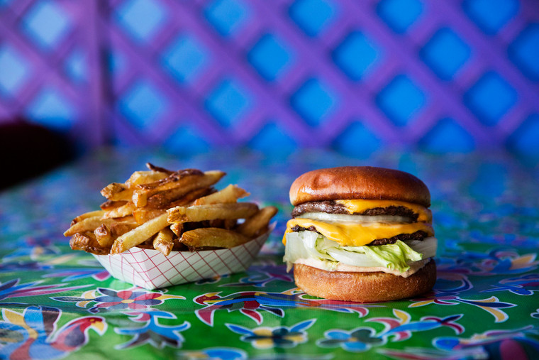 NT Double Burger & Fries
