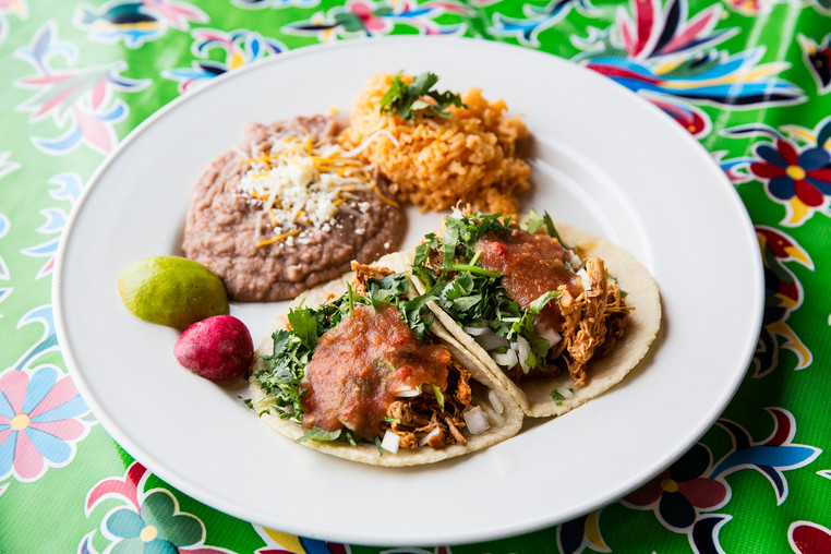 2 Mexican Street Tacos Combo