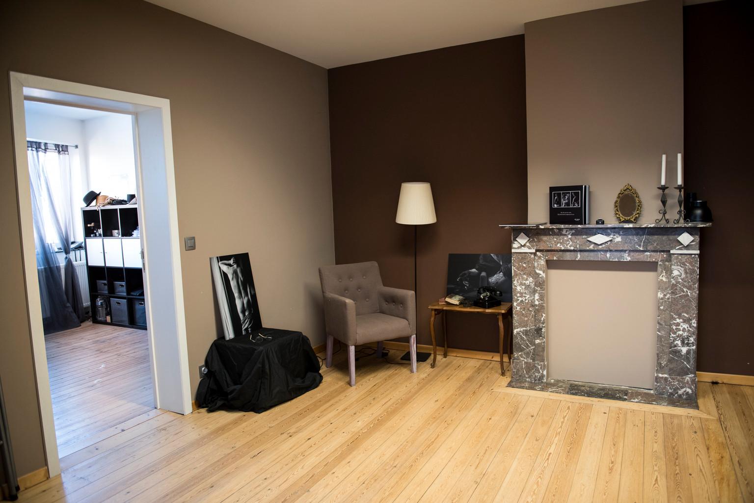 studio pièce 2 et pièce d'accueil