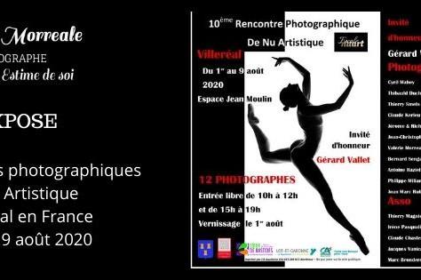 Exposition aux rencontre photographique sur le nu artistique à Villeréal en France