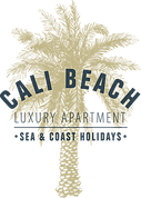 Cali luxury apartment logotype
