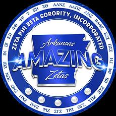 Arkansas Zetas Logo Detailed - CHAPTERS