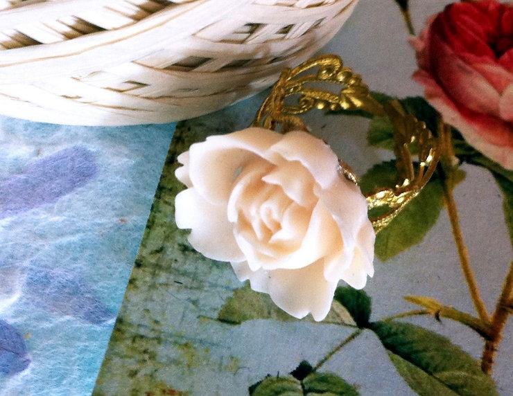 Peach Rose Ring